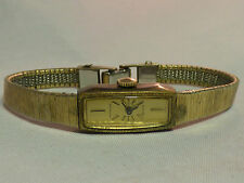Vintage Wittnauer Geneve GP 17 Jewel Womens Watch Manual Wind Running