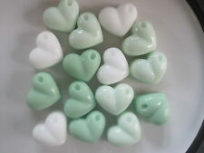 Handmade Heart Guest Soaps Spring Flowers Scent Double Butter