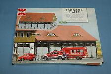 """Busch 1451 Fire Engine Depot Kit  """"Schwenningen""""   HO Scale   Un-Build Kit"""