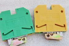 5 Stück WEIDMÜLLER Schutzleiterklemme  Typ EK4    -035456   NEU