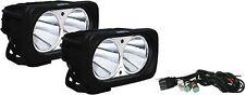 Vision X Dual Optimus Prime Series Set of 2 LED Black Driving Lights 10 Deg 20W