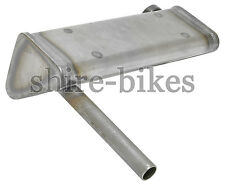 Reproduction Exhaust System Muffler suitable for use with Honda CZ100