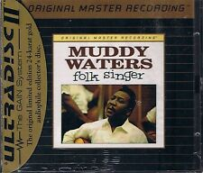Waters, Muddy Folk Singer MFSL Gold CD Neu OVP Sealed