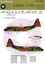 Bestfong Decals 1/72 LOCKHEED C-130H HERCULES Lo Viz Chinese Air Force