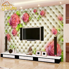 Luxury Wallpaper 3D Wall Mural Papel De Parede Floral Photo Wall Paper Ceiling