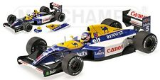 MINICHAMPS 186 920005 WILLIAMS RENAULT FW14B F1 race car Nigel Mansell 1992 1:18