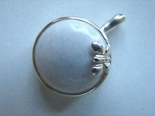 alter Anhänger mit Perlenkettenöse, Schmetterling, 925iger Silber, Sigal Canada
