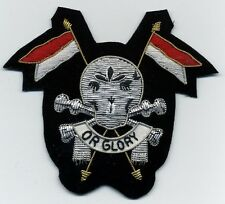 The Royal Lancers Regiment fregio inglese con teschio Totenkopf