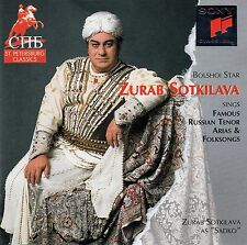 ZURAB SOTKILAVA SINGS FAMOUS RUSSIAN TENOR ARIAS / CD - MIT CUT-OUT