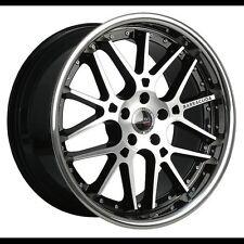 """18"""" Barracuda Stiletto Rosso 8.0x18 5x120 et38 BMW 1er 3er Z3 Z4 X3 Countryman"""