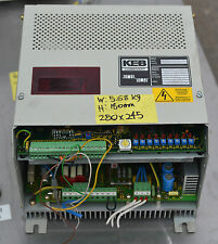 KEB Combivert inverter variable speed drive 10.56.200 10A 2.2KW 3.5KVA