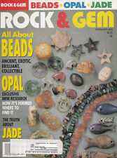 Rock & Gem 2/95 All About Beads/How Opal Is Formed/Truth About Jade/Salt Lake