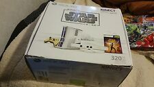 MICROSOFT XBOX 360 LIMITED EDITION STAR WARS CONSOLE 320GB & GAME IN BOX