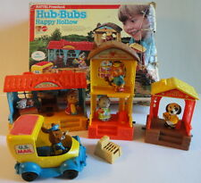 Mattel 1975 Children's PreSchool Playset Hub Bubs Happy Hollow Village Animals