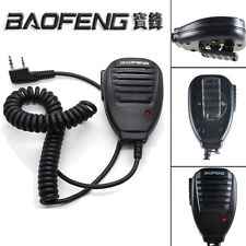 Push-To-Talk PTT Speaker Mic For Baofeng UV82 UV5R series Two Dual  Way Radio FH