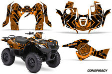 Suzuki Quad 500 AXi AMR Racing Sticker Graphic Kit Wrap Decal ATV 13-15 CONS ORG