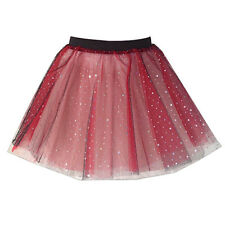 Childrens SPARKLE TUTU MULTIPLE COLOURS FANCY DRESS COSTUME Dance TU-TU 12 INCH