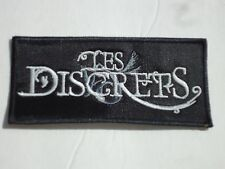 LES DISCRETS EMBROIDERED PATCH