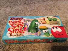 COMPLETE 1999 Don't Sink In The Sink Veggie Tales Talicor Board Game