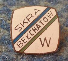 SKRA BELCHATOW VOLLEYBALL POLAND CLUB 1970's ENAMEL PIN BADGE