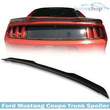 Ford Mustang 6th Coupe Carbon Fiber Rear Trunk Boot Spoiler Wing 15 17