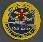 PITTSBURGH PENNSYLVANIA POLICE BOMB & SWAT TEAM PATCH