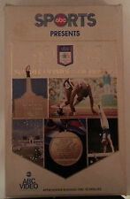abc sports presents  1984 SUMMER OLYMPICS HIGHLIGHTS     VHS VIDEOTAPE