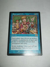 Show And Tell from Urza's Saga X1 Near Mint Minus NM- MTG Magic
