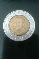 Italia moneta 500 lire del 1994