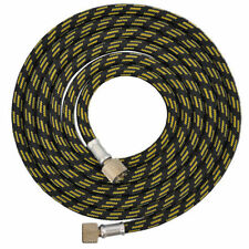 """6' BRAIDED AIRBRUSH HOSE 1/8"""" Fitting Ends Coupling Fits Iwata Master Compressor"""