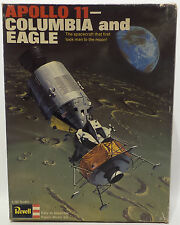 SPACE : APOLLO 11 - COLUMBIA AND EAGLE 1/96 MODEL KIT MADE BY REVELL (MLFP)