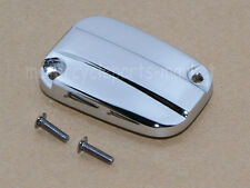 Chrome Brake Fluid Reservoir Cap For Harley Electra Glide Road King 2007-2012