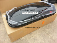 NEW Roof Box Cargo 450 GLOSS BLACK 420 Litre MONT BLANC ROOFBOX