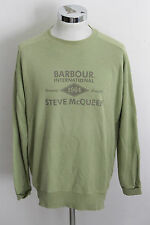 BARBOUR INTERNATIONAL STEVE MCQUEEN L vintage felpa sweater sweatshirt A1090