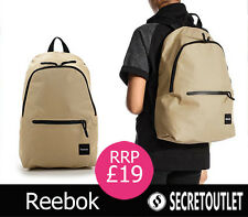 Reebok New Khaki Unisex Backpack Rucksack School Bag Gym/Travel Bag