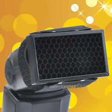 Honeycomb Grid Spot Filter for all Flash Canon 600EX-RT Nikon SB910 Speedlite