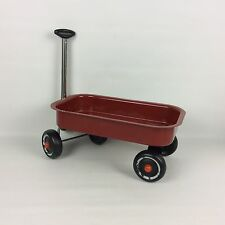 Little Red Wagon Toy Decoration 12.5 X 7.5 Well-Loved