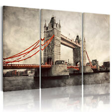 Canvas Prints Home Decor Wall Art Painting Picture-London Bridge#2 Unframed A+