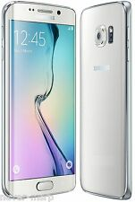 "Samsung Galaxy S6 edge SM-G9250 White (FACTORY UNLOCKED) 5.1"" QHD , 32GB,3GB RAM"