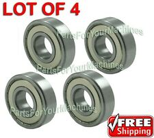 4 SEALED,SHIELDED SPINDLE BEARINGS FOR Husqvarna # 532 11 04-85,  532110485  Z40