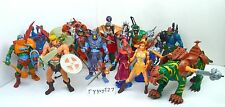 MOTU, Figures Lot, Complete, Masters of the Universe 200x, He-Man, Skeletor, set