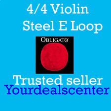 Pirastro Obligato Violin Strings Set 4/4 Steel LOOP E