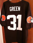 CLEVELAND BROWNS William Green football jersey NFL lrg #31 polyester 2002