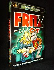 Fritz the Cat (DVD, 2001, Avant-Garde) Mint•No Scratches•Insert•USA•Out-of-Print