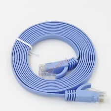 3M 10FT Cat 6 Ultra-Thin Flat RJ45 Ethernet Patch Network Internet Lan DSL Cable