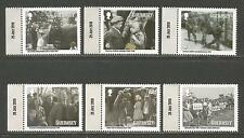 Guernsey 2010 Evacuation 70th Anniv/WWII--Attractive Topical (1099-1104) MNH