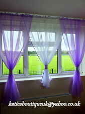 Beautiful  Voile Net Curtains HOME WINDOW DECORATIONS