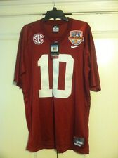 Nike Alabama Crimson Tide 2013 BCS National Title Sewn Jersey SEC Orange Bowl 10