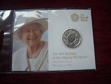 2016 Royal Mint 20 Pound 90th Birthday of Her Majesty The Queen