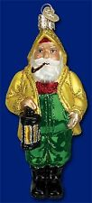 *Salty Santa* Fisherman Ocean [40224] Old World Christmas Glass Ornament- NEW